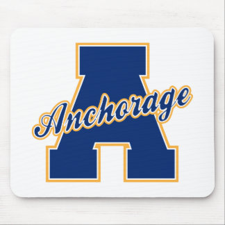 Anchorage Letter Mouse Pad
