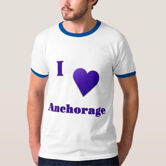 Anchorage -- Midnight Blue T-Shirt