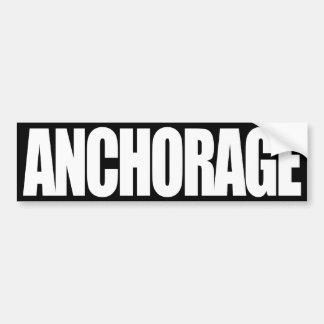 Anchorage Pegatina Para Auto