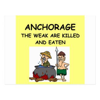 ANCHORAGE POSTCARDS