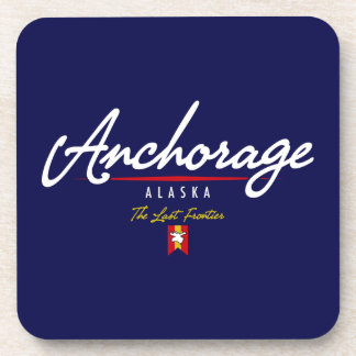 Anchorage Script Coaster