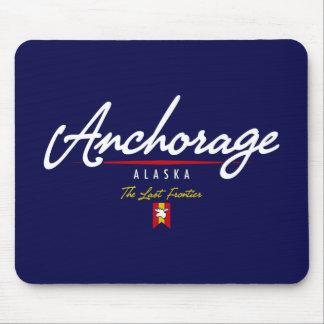 Anchorage Script Mouse Pad