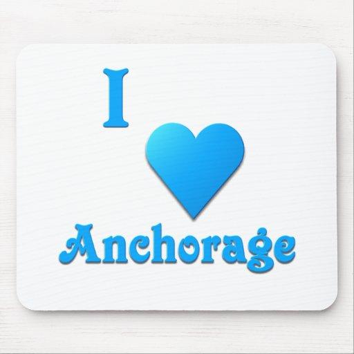 Anchorage -- Sky Blue Mousepad