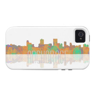 Anchorage Skyline iPhone 4 Covers