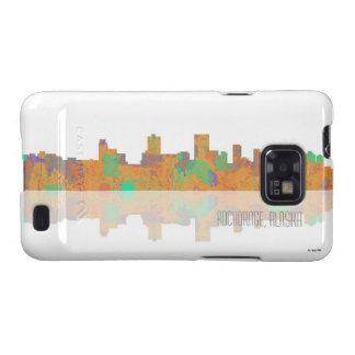 Anchorage Skyline Samsung Galaxy S2 Cases