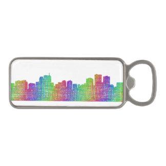Anchorage skyline magnetic bottle opener