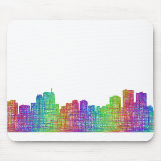 Anchorage skyline mouse pad
