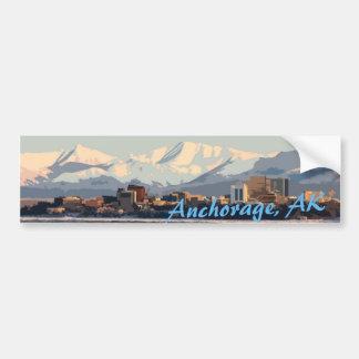 Anchorage sticker bumper stickers