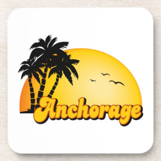 Anchorage Sun Beverage Coaster