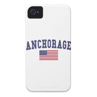 Anchorage US Flag iPhone 4 Case