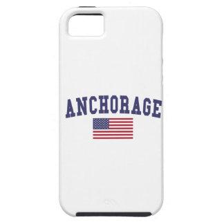 Anchorage US Flag iPhone SE/5/5s Case
