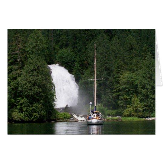Anchored at Chatterbox Falls Card