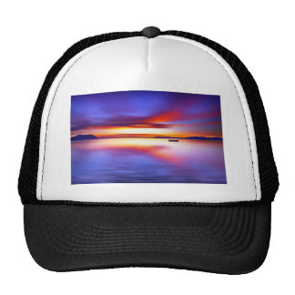 Anchored for the Night Digital Art Hats