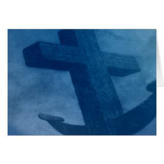 Anchored in Him Card