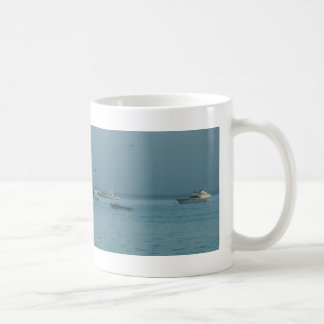 Anchored in Morro Bay Classic White Coffee Mug