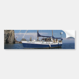 Anchored In Southern Italy Bumper Sticker