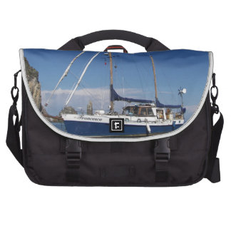 Anchored In Southern Italy Bags For Laptop