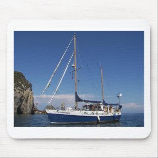 Anchored In Southern Italy Mousepads