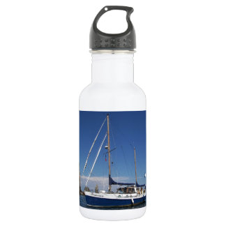Anchored In Southern Italy Stainless Steel Water Bottle