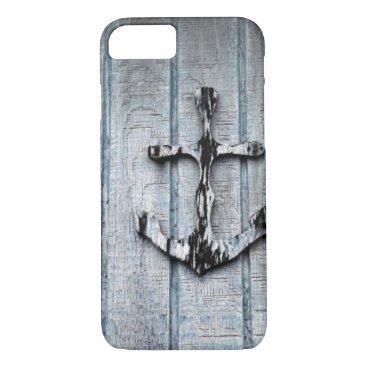 Beach Themed Anchored iPhone 7 Case