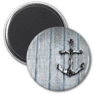 Anchored Fridge Magnet