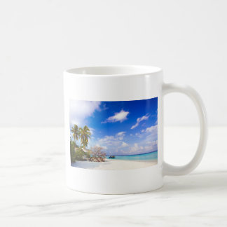 Anchored Offshore the Beach Coffee Mug