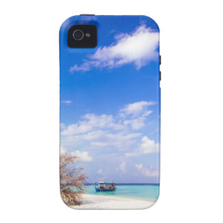 Anchored Offshore the Beach Vibe iPhone 4 Case