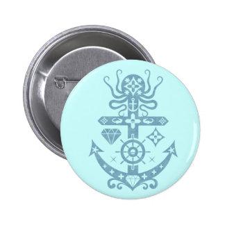 Anchored Pinback Button