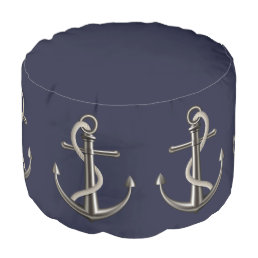 Anchored Rope Pouf