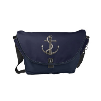 Anchored Rope Small Messenger Bag