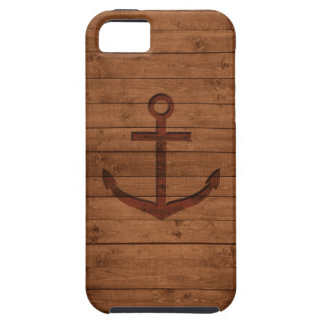 Anchored Rustic iPhone 5 Cover