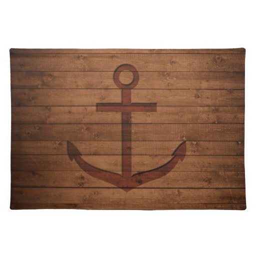 Anchored Rustic Placemat