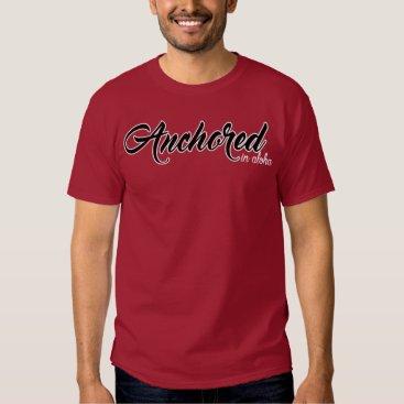 Ocean Themed Anchored (Script) T-Shirt