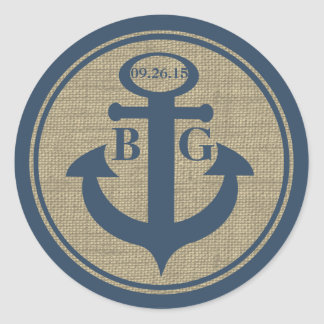 Anchored with Love Stickers
