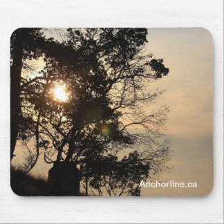 Anchorline Mouse pad - Wallace Island marine park