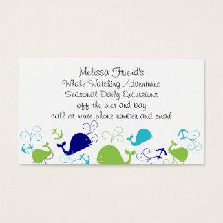 Anchors-a-Whale Business Card