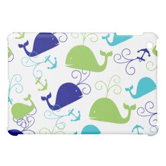 Anchors-a-Whale iPad Mini Covers