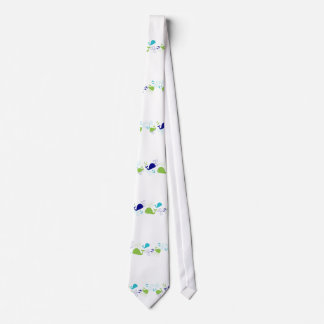 Anchors-a-Whale Tie