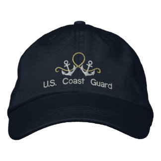 Anchors and Rope U.S.Coast Guard Hat