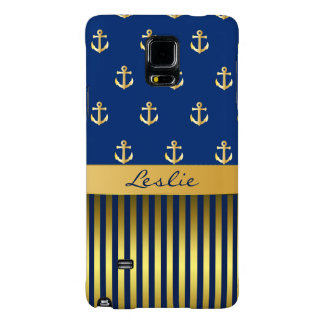 Anchors and Stripes Samsung Note 4 Case