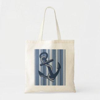 Anchors away! budget tote bag