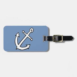 anchors away bag tag