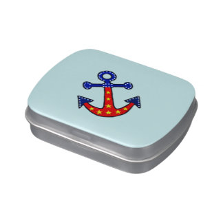 Anchors Away Candy Tins