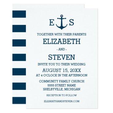 Beach Themed Anchors Away Card