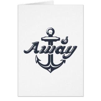 Anchors Away Card