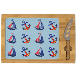 Anchors Away Cheese Board