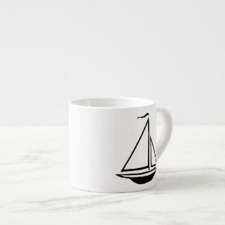 Anchors Away Collection - Espresso Mug 6 Oz Ceramic Espresso Cup