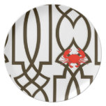 Anchors Away Collection - Mr Crabby Plate
