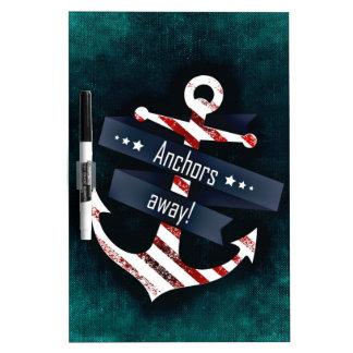 Anchors Away Dry Erase Board