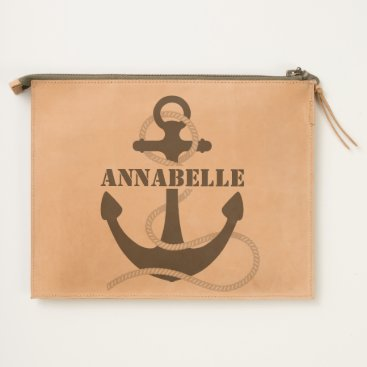 USA Themed Anchors Away Five Travel Pouch